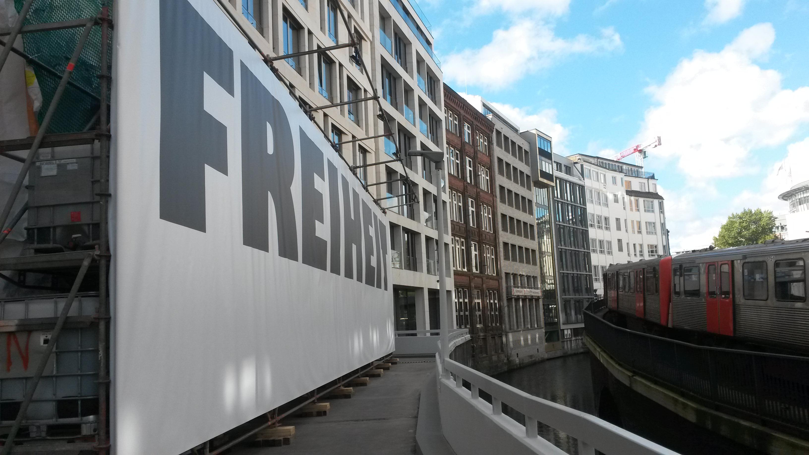 Eine Wand für die Freiheit - BBZ Bad Segeberg