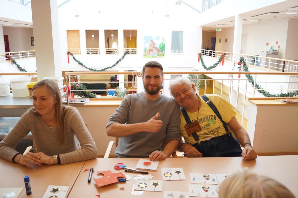 Besuch Pflegeheim